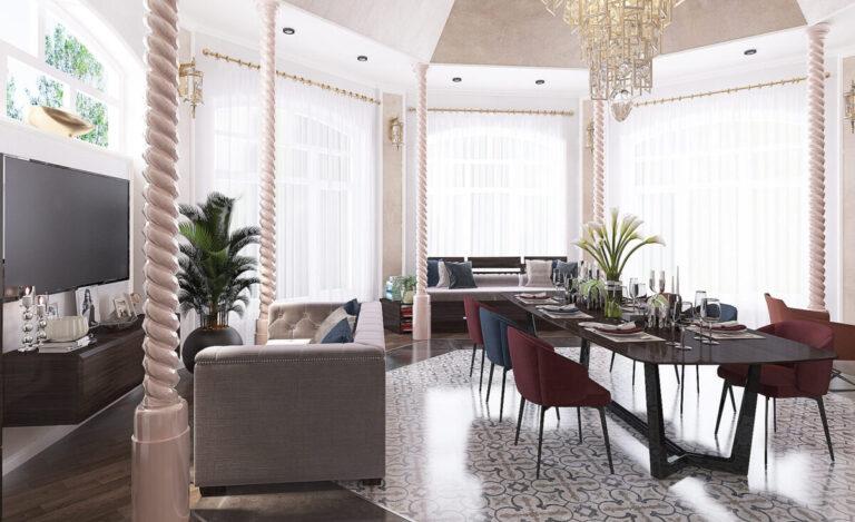 Дизайн проект загородного частного дома