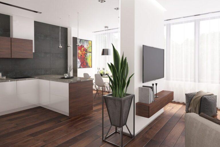 Дизайн квартиры 104 м2 Нагатинский 1-й проезд, 5